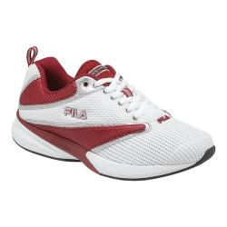 Children's Fila Siluro 2 White/Garnet/Jet Black