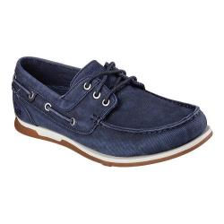 Men's Skechers Relaxed Fit Eris Inaldo Boat Shoe Navy