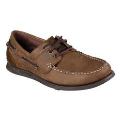 Men's Skechers Relaxed Fit Eris Sebos Boat Shoe Desert