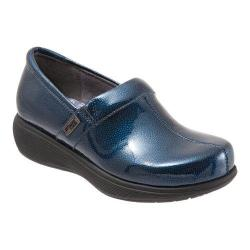 Women's SoftWalk Meredith Clog Navy Patent Stingray