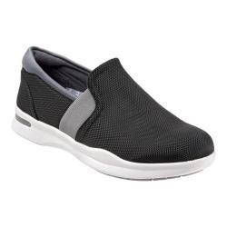 Women's SoftWalk Vantage Premium Slip On Black/Grey Ballistic Nylon