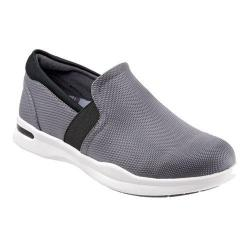 Women's SoftWalk Vantage Premium Slip On Grey/Black Ballistic Nylon