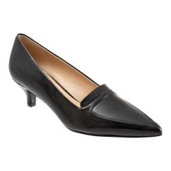 Women's Trotters Piper Pump Black Leather
