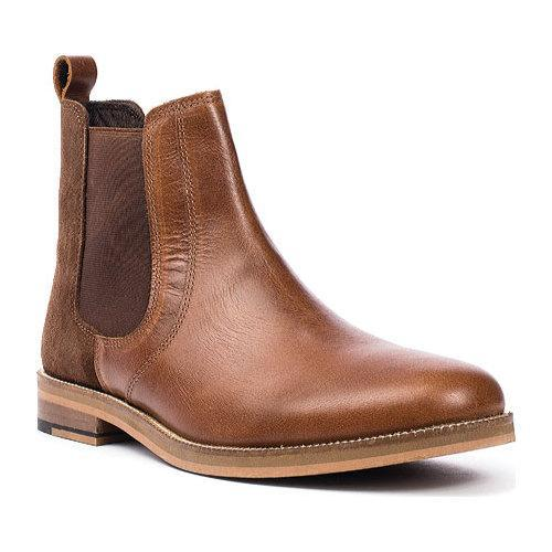 Men's Crevo Denham Chelsea Boot Chestnut Leather