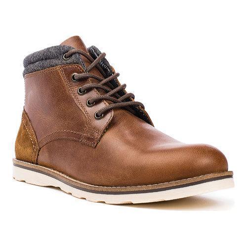 Shop Men's Crevo Geoff Ankle Boot Chestnut Leather/Suede