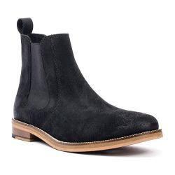 Men's Crevo Denham Chelsea Boot Black Suede|https://ak1.ostkcdn.com/images/products/125/557/P19116783.jpg?impolicy=medium