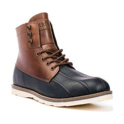 Men's Crevo Forthway Two Tone Duck Boot Black/Chestnut Leather