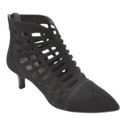 Women's Rockport Total Motion Kalila Cutout Shootie Black Kid Suede (2 options available)