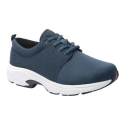Women's Drew Excel Sneaker Navy Leather