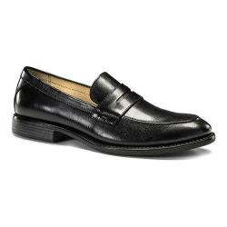Men's Dockers Manchester Penny Loafer Black Burnished Full Grain Leather