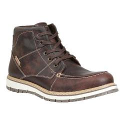 Men's GBX Duce Moc Toe Ankle Boot Brown Melizza