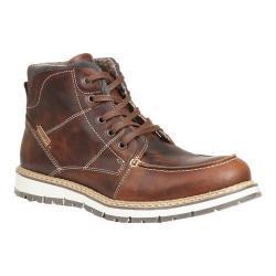 Men's GBX Duce Moc Toe Ankle Boot Tan Melizza