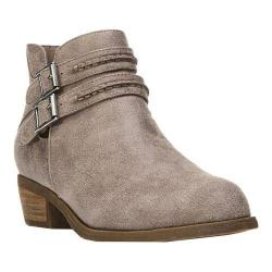 Women's Carlos by Carlos Santana Laney Bootie Doe Synthetic Leather