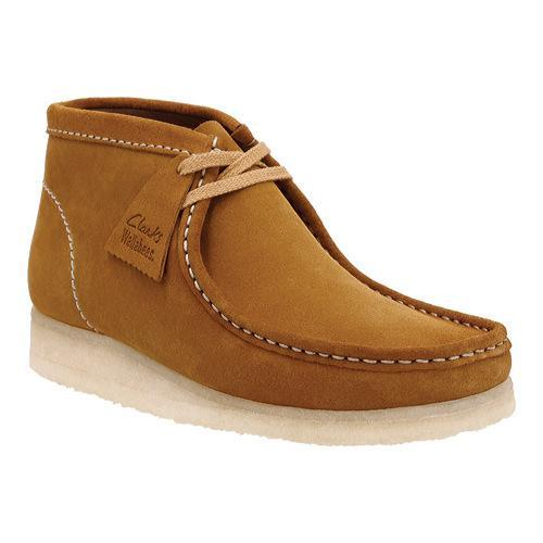 8a4dfd3ba89be Shop Men s Clarks Wallabee Boot Bronze Suede - Free Shipping Today ...