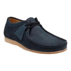 Men's Clarks Wallabee Step Moc Toe Shoe Navy Nubuck