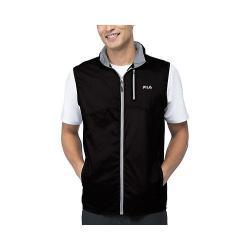 Men's Fila Stand Out Wind Vest Black/Highrise