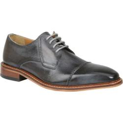Men's Giorgio Brutini Revenant Cap Toe Derby Gray Cow Crust