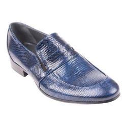 Men's Giovanni Marquez 2571-01 Penny Loafer Azul Reptile