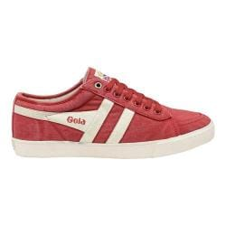 Men's Gola Comet Casual Sneaker Red/Off White Canvas