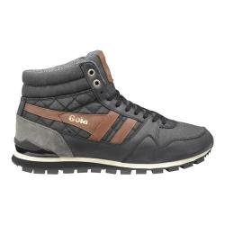 Men's Gola Ridgerunner High CC Casual Sneaker Black Canvas