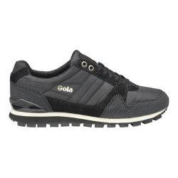 Men's Gola Ridgerunner II Casual Sneaker Black/Black Nylon