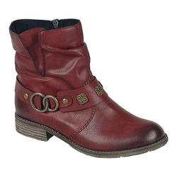 Women's Rieker-Antistress Peggy 98 Ankle Boot Wine