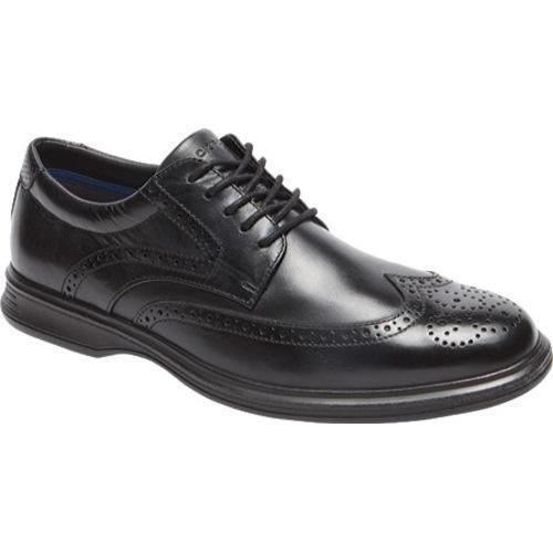Men's Rockport Dressports 2 Lite Wing Tip Oxford Black Leather