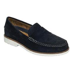 Men's Rockport Classic Penny Loafer New Dress Blues Suede