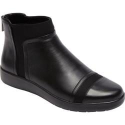 Women's Rockport Devona Darina Ankle Boot Black Leather