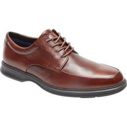 Men's Rockport Dressports 2 Lite Apron Toe Oxford New Brown Leather