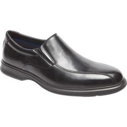 Men's Rockport Dressports 2 Lite Bicycle Toe Slip On Black Leather