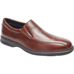 Men's Rockport Dressports 2 Lite Bicycle Toe Slip On New Brown Leather