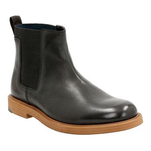 edcfa4b600ac Shop Men s Clarks Feren Top Chelsea Boot Black Leather - Free Shipping  Today - Overstock - 12316006