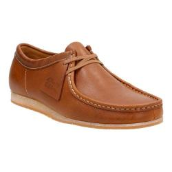 Men's Clarks Wallabee Step Moc Toe Shoe Tan Leather