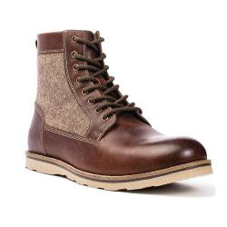 Men's Crevo Trilby Boot Chestnut Leather/Fabric