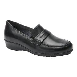 Women's Drew Berlin Loafer Black Leather