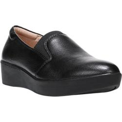 Women's Naturalizer Landrie Slip On Black Leather