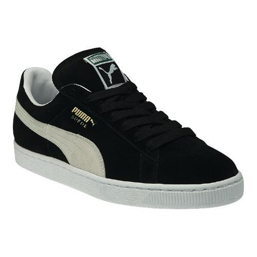 1ae92602dd4c Shop Men s PUMA Suede Classic Eco Black White - Free Shipping Today -  Overstock - 12316063