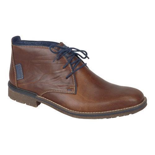 Men's Rieker-Antistress Johnny 10 Chukka Ankle Boot Marron/Navy