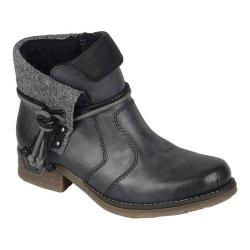 Women's Rieker-Antistress Fee 93 Ankle Boot Black/Black/Wood/Mogano Synthetic