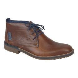 Men's Rieker-Antistress Johnny 10 Chukka Ankle Boot Marron/Navy/Ozean Leather/Synthetic Combo