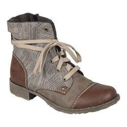 Women's Rieker-Antistress Payton 22 Lace Up Boot Brandy/Fango/Cigar Synthetic