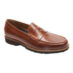 Men's Rockport Classic Move Penny Loafer Cognac Leather