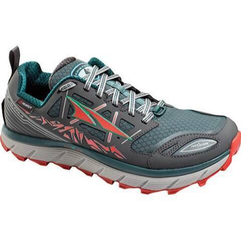 big sale d4b04 db6f0 Women s Altra Footwear Lone Peak 3.0 NeoShell Trail Running Shoe Gray Blue