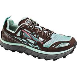Women's Altra Footwear Lone Peak 3.0 Mid NeoShell Trail Running Shoe Blue