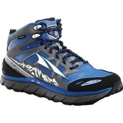Men's Altra Footwear Lone Peak 3.0 Mid NeoShell Trail Running Shoe Electric Blue