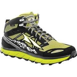 Men's Altra Footwear Lone Peak 3.0 Mid NeoShell Trail Running Shoe Lime