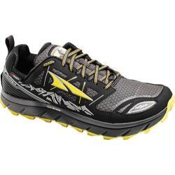Men's Altra Footwear Lone Peak 3.0 NeoShell Trail Running Shoe Black/Yellow