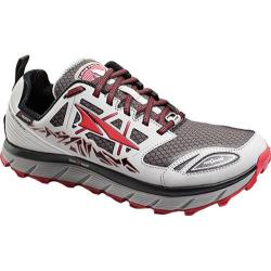 Men's Altra Footwear Lone Peak 3.0 NeoShell Trail Running Shoe Gray/Red