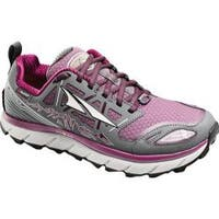 Women's Altra Footwear Lone Peak 3.0 NeoShell Trail Running Shoe Gray/Purple